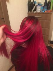 Наращивание волос от 45000 тенге,  обучение 50000 тенге