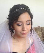 Свадебный макияж и прическа с выездом на дом к клиенту